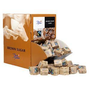 Graudu cukurs DAN SUKKER brūns 169 pac x 6.2g,  (1.05kg)