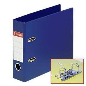 Mape-reģistrs A5/75mm,  ESSELTE VIVIDA No.1,  pagarināts,  zila