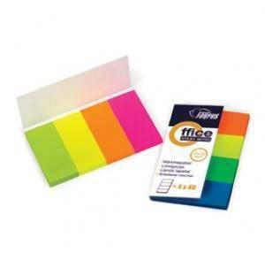 Indeksi 20mm*50mm 160lpp neona krāsa, papīra