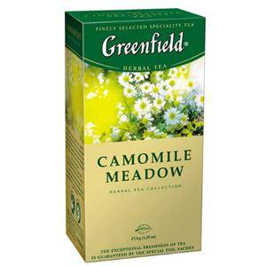GREENFIELD Camomile Meadow zāļu tēja 25×1, 5gr.