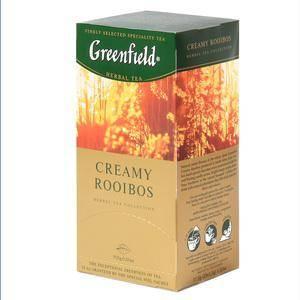 GREENFIELD Creamy Rooibos zāļu tēja 25×1.5g