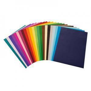 Krāsains papīrs A4,  225g. 25 loksnes,  gaiši dzeltens