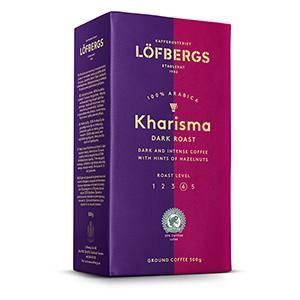 Kafija maltā LOFBERGS LILA KHARISMA 500 g.