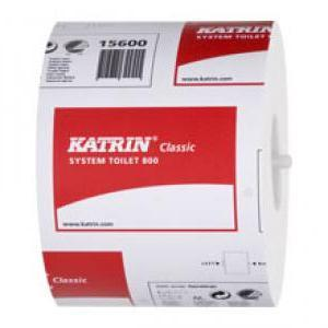 Tualetes papīrs KATRIN Classic System Toilet 800,  2 slāni