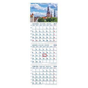 *Sienas kalendārs PERFECT PLAN 3 daļas