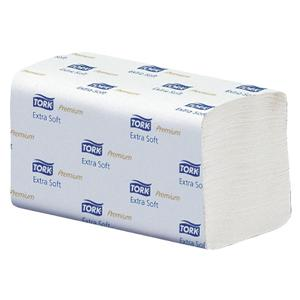 Dvieļi-salvetes TORK Premium Extra Soft H2 2slāņi/100salv.