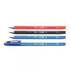Lodīšu pildspalva CLICKER , sarkana, 0.7mm