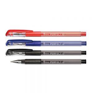 Gēla pildspalva FORPUS PERFECT, melna, 0.5mm